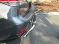 <b>10-15 Lexus RX350/RX450H</b> Stainless Steel Single Tube Rear Bumper Guard