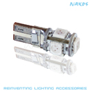 NX-194X-5-5 - 194 CANBUS 5050 (4 Colors Avail.) 5 SMD WHITE Twin Set of Bulbs by NAXOS