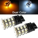 NX-7443-3-60WY - 7443 60 SMD WHITE/YELLOW Twin Set of Bulbs by NAXOS