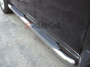 <b>01-06 Acura MDX</b> Stainless Steel 3inch Round Side Step Bars