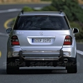 <b>98-05 Mercedes ML-Class (W163 Chassis)</b> Stainless Steel Double Tube Rear Bumper Guard