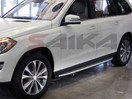 <b>12-15 Mercedes Benz ML-Class (W166 Chassis)</b> OEM Style Aluminum Running Boards