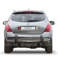 <b>03-08 Nissan Murano</b> Stainless Steel Double Tube Rear Bumper Guard