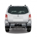 <b>05-12 Nissan Pathfinder</b> Stainless Steel Double Tube Rear Bumper Guard