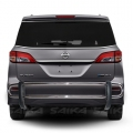 <b>04-10 Nissan Quest</b> Stainless Steel Double Tube Rear Bumper Guard