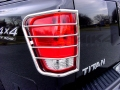<b>04-10 Nissan Titan</b> Stainless Steel Tail Light Guards