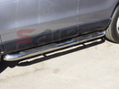 <b>95-04 Nissan Pathfinder</b> 3inch Round Stainless Steel Side Step Bars