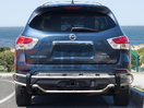 <b>13-15 Nissan Pathfinder</b> Stainless Steel Double Tube Rear Bumper Guard