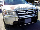 <b>03-08 Honda Pilot</b> Stainless Steel 1 PC Grille Guard