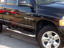 <b>10-14 Dodge RAM 2500/3500 Crew Cab</b> 3inch Round Stainless Steel Side Step Bars