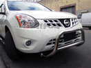 <b>08-13 Nissan Rogue</b> 2.5inch Stainless Steel Bull Bar (No Skid Plate)