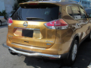 <b>14-15 Nissan Rogue</b> Stainless Steel Single Tube Rear Bumper Guard