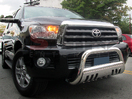 <b>08-14 Toyota Sequoia</b> 3inch Stainless Steel Bull Bar w/Skid Plate