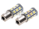 NX-1156-5-18 - 1156 5050 18 SMD LED Light Bulbs - Pair (4 Colors) By NAXOS