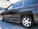 <b>10-14 GMC Terrain</b> 3inch Round Stainless Steel Side Step Bars