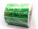SL-TT185-G Do Not Roll Down Sticker
