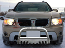 <b>06-09 Pontiac Torrent</b> Stainless Steel 3inch Bull Bar with Skid Plate
