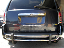 <b>08-14 Chrysler Town & Country</b> Stainless Steel Double Tube Rear Bumper Guard