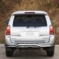 <b>10-13 Toyota 4Runner</b> Stainless Steel Single Tube w/ Skid Rear Bumper Guard