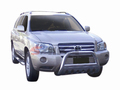 <b>01-07 Toyota Highlander</b> (Excl. Hybrid) 3inch Stainless Steel Bull Bar w/Skid Plate