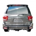 <b>01-07 Toyota Sequoia</b> Stainless Steel Double Tube Rear Bumper Guard