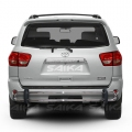 <b>08-14 Toyota Sequoia</b> Stainless Steel Double Tube Rear Bumper Guard
