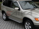 <b>07-12 BMW X5</b> (E70  Chassis) OEM Style Aluminum Running Boards